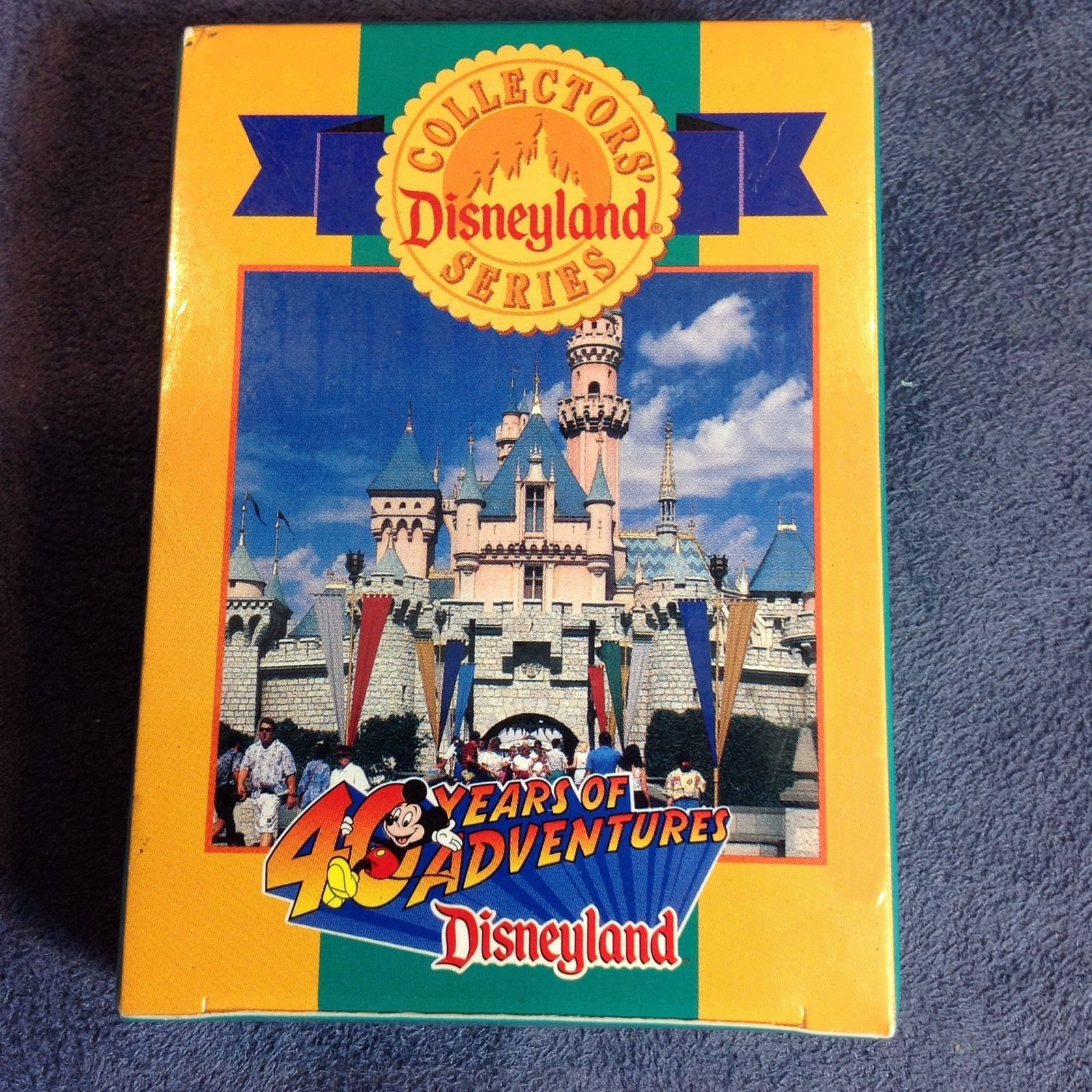 Collectors' Disneyland Series 40 Years of Adventure Trading Cards Deck New Rare