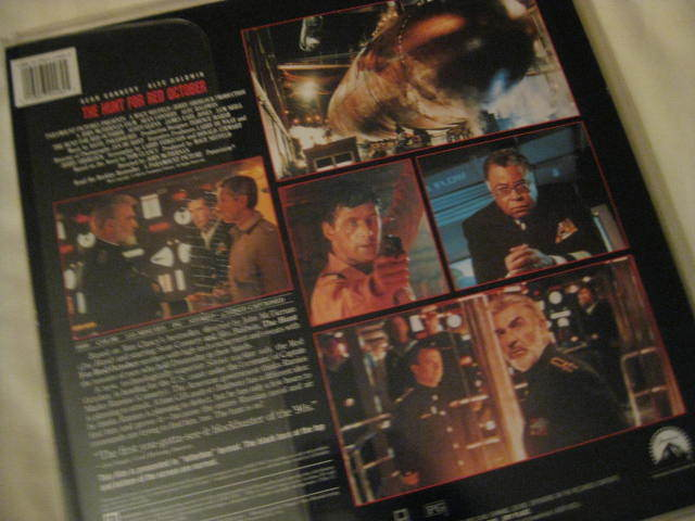 LaserDisc - THE HUNT FOR RED OCTOBER