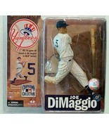 New York Yankees Joe DiMaggio Figure Mcfarlane - $27.67