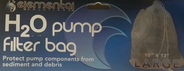 Elemental H2o pump bag. LARGE..  use for Aquaponics and Hydroponics - $15.83