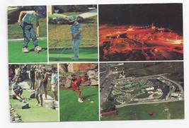 Alexandria Bay NY Bonnie Castle Greens Amusements Multiview Golf Postcar... - $7.56
