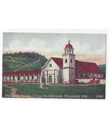 CA Mission Santa Cruz Vintage Edward H Mitchell 1463 Postcard - $7.56