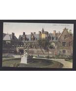 France Paris Musee de Cluny Museum Vtg Neurdein Postcard c 1910 - $7.56