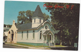 Ocean Grove NJ Thornley Chapel Vintage Postcard - $7.56