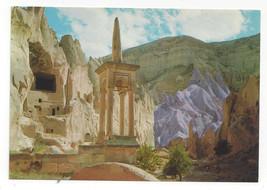 Turkey Avanos Zelve Monastery Cappadocia Nevsehir Vtg Postcard 4X6 - $7.56