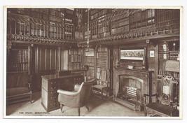 UK Scotland Abbotsford House The Study Valentines Vintage Postcard - $7.56