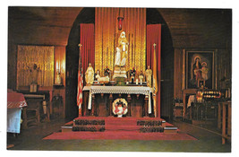 VT Isle La Motte Altar Fort St Anne Shrine Vtg Postcard Vermont - $6.69