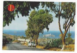Morocco Maroc Al Hoceima The Crag Le Rocher Vtg Postcard 4X6 - $6.49