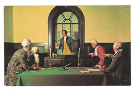 Williaimsburg National Wax Museum Patrick Henry Vtg Mike Roberts Postcard - $6.49