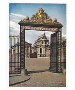 Versailles Palace Gate of Honor La Grille d'Honneur Vtg Postcard 4X6 - $6.99