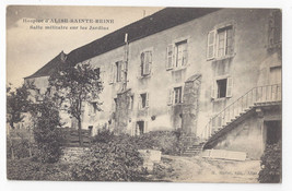 WWI France Hospice d'Alise Sainte Reine Military Rooms Gardens c 1918 Po... - $8.72