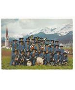 Austria Pfaffenhofen Folklore Band Music Tirol Tyrol Alps Vtg Postcard 4X6 - $8.72