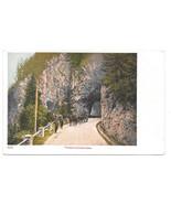 Austria Switzerland Finstermunz Pass Tyrol Alps Mountain Road Vtg UDB Po... - $6.49