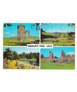UK Leicestershire Bradgate Park Charmwood Forest Multiview Vtg Postcard ... - $5.52