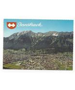 Austria Innsbruck Alps Nordkette Hafelekar Seegrube Hungerburg Vtg Postc... - $5.52