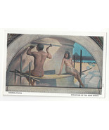Washington DC Mural Library of Congress Hieroglyphics J W Alexander Vtg ... - $5.52