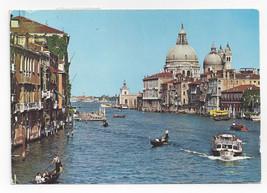 Italy Venice Venezia Grand Canal Salute Church Domes Posted 1994 Postcar... - $4.99