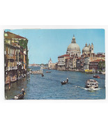 Italy Venice Venezia Grand Canal Salute Church Domes Posted 1994 Postcar... - $4.99
