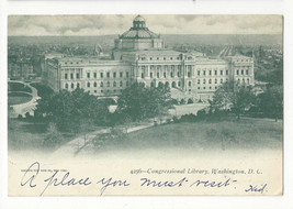 Washington DC Library of Congress Vtg 1905 UDB Postcard Philadelphia Fla... - $5.99