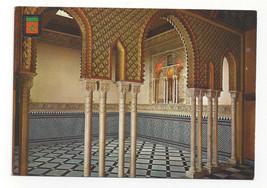 Morocco Maroc Tetuan Tetouan Royal Palace Interior Vtg Postcard 4X6 - $5.81