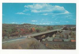 MD Hancock US 522 Bridge Potomac River Hwy 40 Vtg Postcard - $5.52