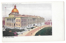 MA Boston State House Vtg Sparrell UDB Postcard 1905 - $5.52