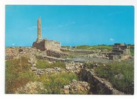 Greece Aegina Temple of Apollo Aigina Vtg Postcard 4X6 - $4.99