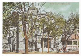 West Chester PA County Jail Biehn Bicentennial Repro Postcard 1999 4X6 - $6.49