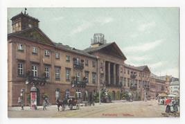 Germany Karlsruhe Rathaus Town Hall Vtg Schaar u Dathe Postcard c 1910 - $4.99