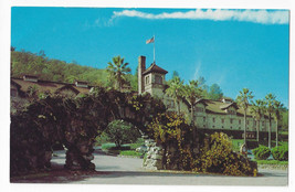 CA St Helena Christian Brothers Wine and Champagne Cellars Vintage Postcard - $5.52