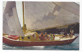 Sailing Sloop Virgin Islands Buck Island Bill Miller Advertising 1971 Po... - $9.65