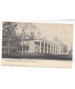 Mount Vernon VA Washingtons Home National Art Views UND Postcard ca 1905 - $4.99