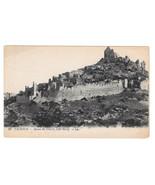 France Valence Ruins Chateau Crussol Castle Vintage Lucien Levy Postcard - $4.99