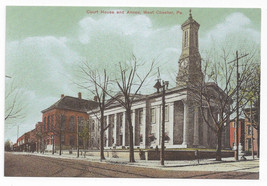 West Chester PA Court House and Annex Biehn Bicentennial Repro Postcard ... - $5.52