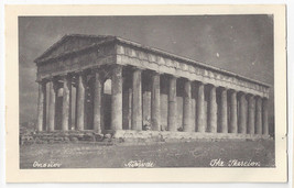 Greece Athens Olympia Thesion Thescion Vintage Postcard - $5.52