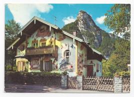 Oberammergau Germany Luftlmalerei Rotkappchenhaus Little Red Riding Hood... - $4.99