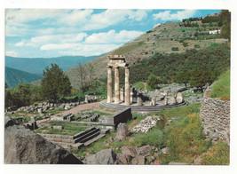Greece Delphi Marmaria Tholos Temple Athena Pronoia Terrace Vtg Postcard... - $5.52