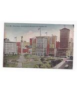 San Francisco CA Union Square Dewey Monument Vintage PNC Postcard - $5.52