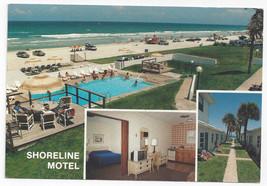 Daytona Beach FL Shoreline Motel Multiview Swimming Pool Beach 1994 Post... - $5.52