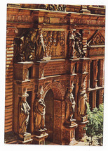 Germany Heidelberg Portal Otto Heinrich Castle Doors Vintage Postcard 4 X 6 - $5.52