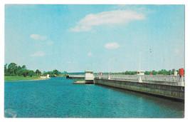 FL Olga Locks Calohachee River Caloosahatchee Vtg Florida Postcard WP Fr... - $5.81