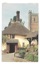 UK Great Britain England Luccombe Village Isle of Wight Vtg Postcard 1964 - $6.49
