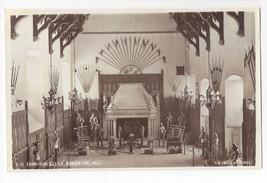 UK Scotland Edinburgh Castle Banqueting Hall H. M. Office of Works Real Photo PC - $5.52