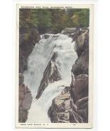 NY Lake Placid Wilmington Notch High Falls Vtg Tichnor Postcard - $5.52