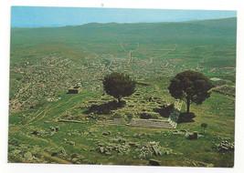 Bergama Turkey Zeus ve Bergama Pergamon Altar Ruins Postcard Continental... - $4.99