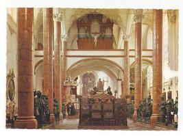 Austria Innsbruck Hofkirche Church Interior Maximilian Cenotaph Vtg Post... - $5.52