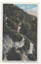 Mt Lowe CA Horse Shoe Curve Vintage Postcard - $5.90