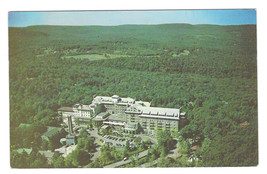 PA Buck Hill Falls The Inn Hotel Aerial View Vtg 1953 Postcard Pennsylvania - $4.99