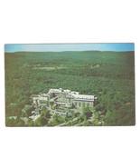 PA Buck Hill Falls The Inn Hotel Aerial View Vtg 1953 Postcard Pennsylvania - $4.99