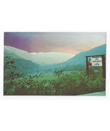 NC Maggie Valley Rt. 19 Great Smoky Mountains Sunrise Vintage Postcard - $5.52